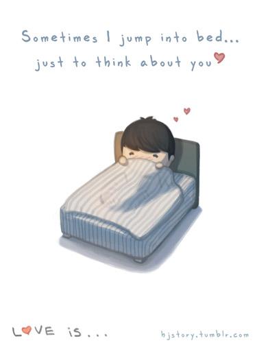 думать о тебе