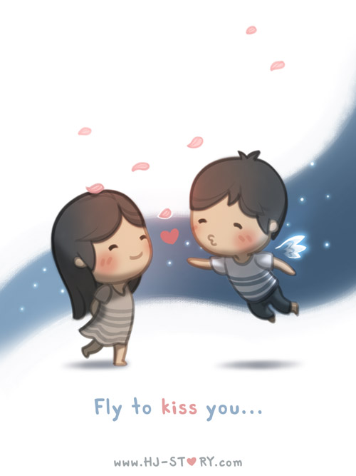 41. Fly to Kiss You by hjstory