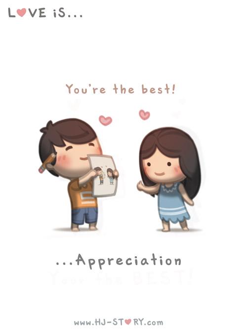 54. Love is... Appreciation by hjstory on DeviantArt