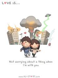 88.  Love is... No Worries