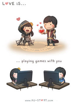 125. Love is... Playing Games