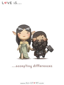 128. Love is... Accepting Difference