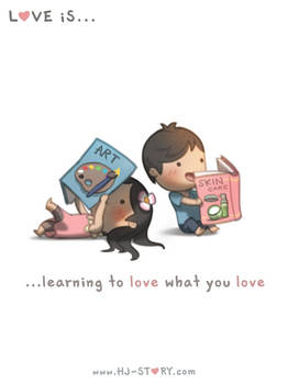 139. Love is... Love What You Love