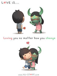 Love Is.. No Matter How you Change