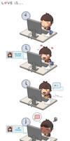Love is... Online