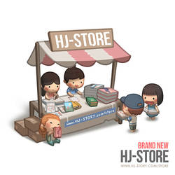 New HJ-Store by hjstory