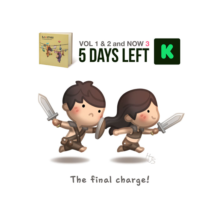 5days Charge by hjstory
