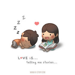 Love is... Storytelling by hjstory