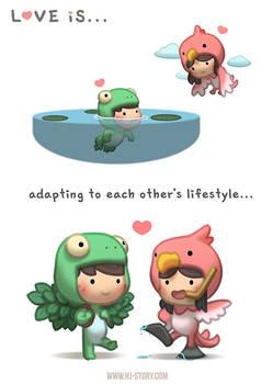 Love is... Adapting!