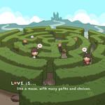 Love is... Like a Maze