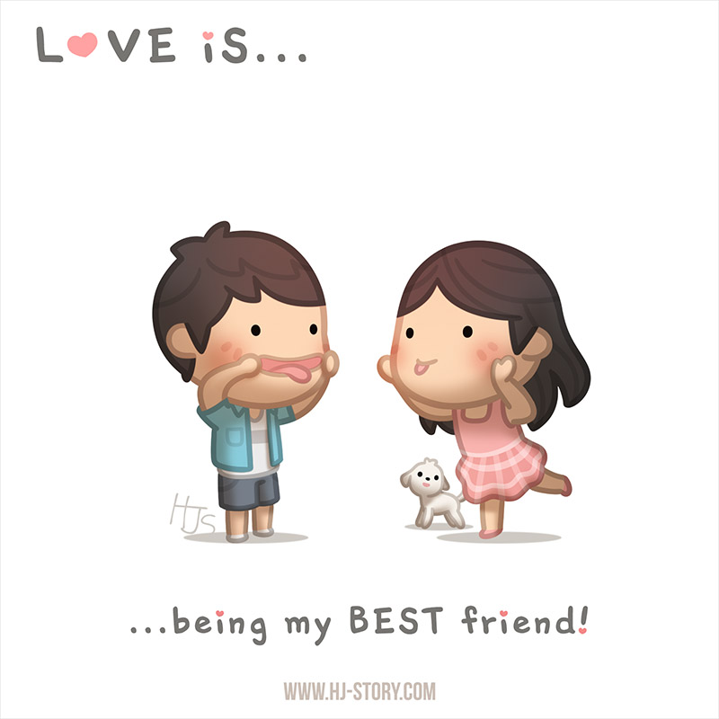Incroyable Love Is... Being My Best Friend By Hjstory ...