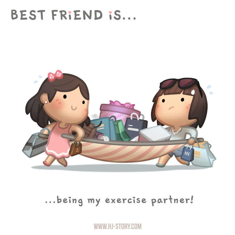 BFF Ep.04 Exercise Partner (Girl) By Hjstory ...