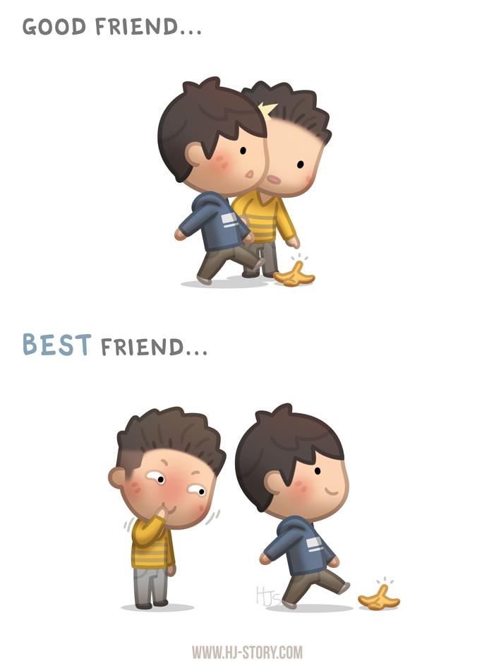 Etonnant BFF Ep.05 Good Friend Vs Best Friend By Hjstory ...