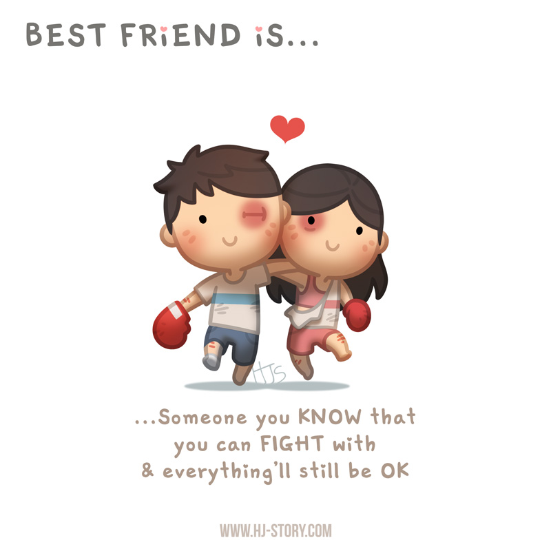 Fight For Friendship Quotes: BFF Ep.08 Best Friend Is.. Fight And Be Ok By Hjstory On