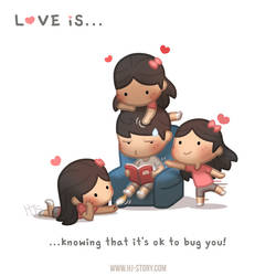 Love is... bugging you!