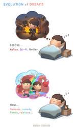 Dream Evolution by hjstory