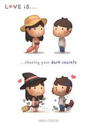 Love is... Dark Secrets by hjstory