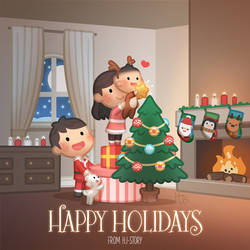 Happy Holiday by hjstory