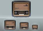 Bush Radio Icons by art3h