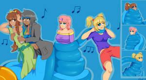 ~Commission~ Gartershop Quartet