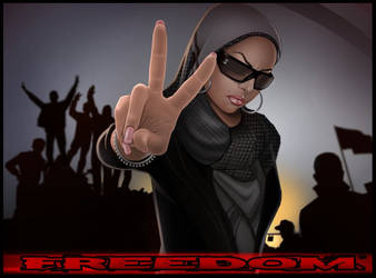 freedom by GARV23