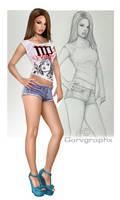 Virgo sketch combo by GARV23