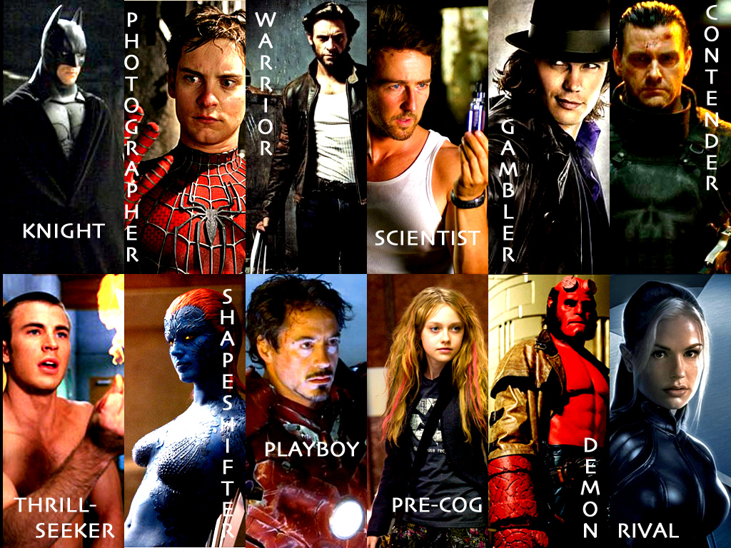 Super Heroes Wallpaper by ariannafelidae on DeviantArt Best Tobey Maguire Movies