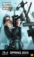 GTA V Concept Art by duelx24
