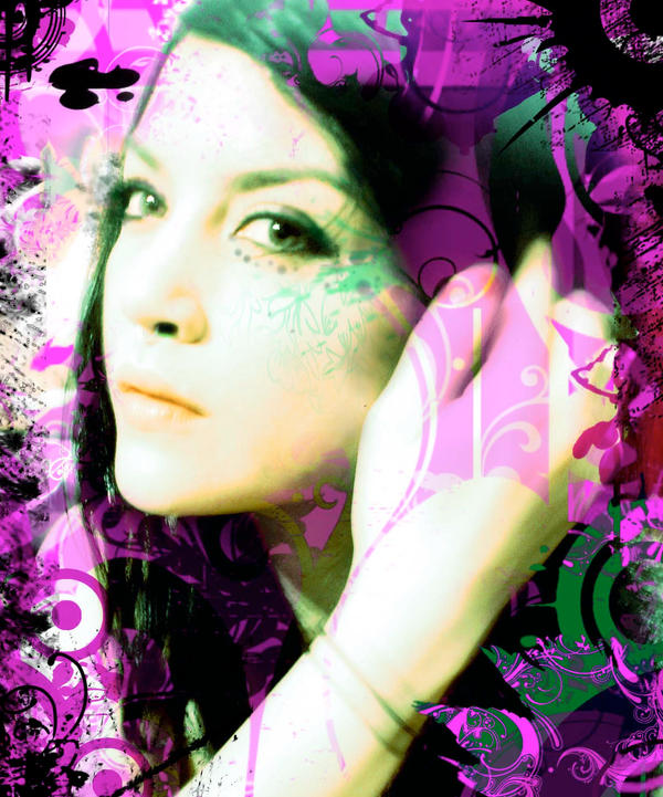 portrait    Mel by Zeiran