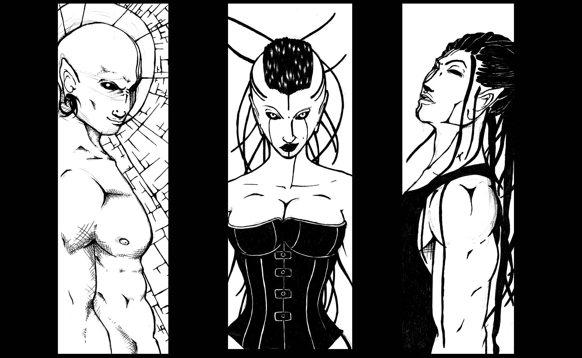 Cryptic Holy Trinity by Zeiran