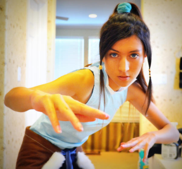 [Cosplay WIP] Korra by Shinigami-Mero-Chan