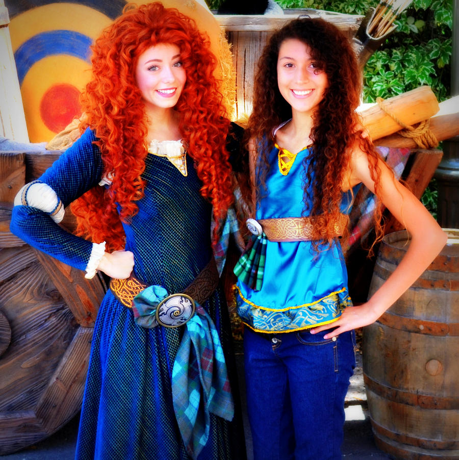 Disneybound Merida - Brave by Shinigami-Mero-Chan