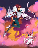 The Gym Leader Starfire by olifuxart
