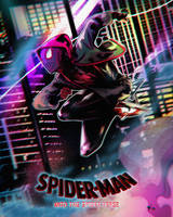 Morales - Into the Spider-Verse by olifuxart