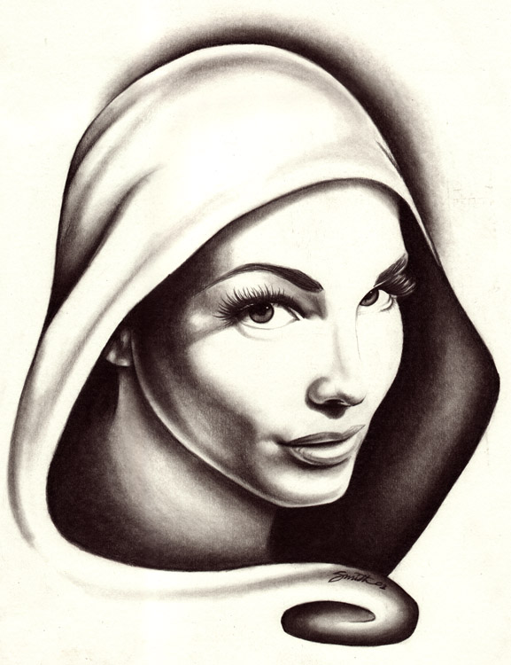 Are not women in hoods paintings congratulate