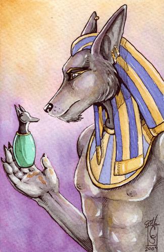 Anubis by Rvaya
