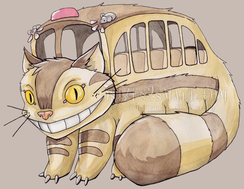 Where S My Cat Bus