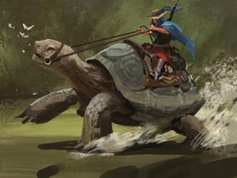 running by samuraise