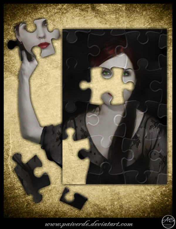 Self made puzzle by PaiVerde