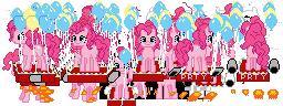 Pinkie Pie Kart Strip by MareioKart