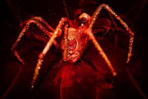 Radioactive Arachnophobia by martial81