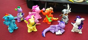 MLP:FiM dragons - group shot