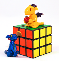 Rubik's Dragons by HowManyDragons