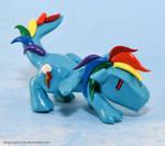 My Little Pony-dragons: Rainbow Dash
