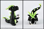 Black Xbox Gamer Dragon
