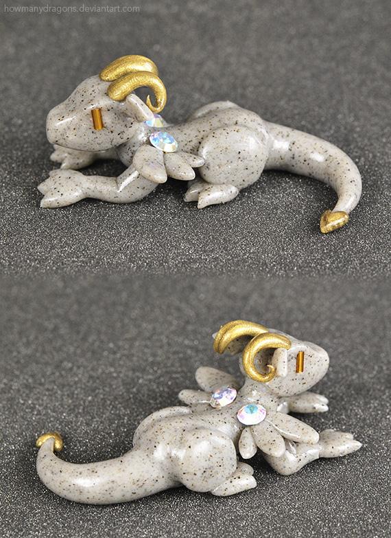 Stone Gargoyle Dragon by HowManyDragons