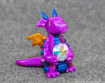 Purple and Blue Gem Dragon