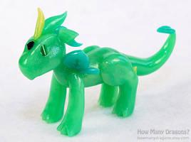 Rainbow Elementals: Earth Dragon by HowManyDragons