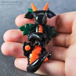 Black Pumpkin Dragon