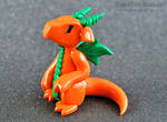 Orange Pumpkin Dragon